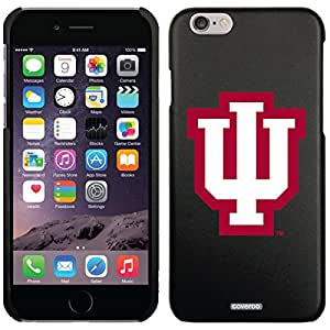 Indiana - Iu design on Black iPhone 6 Microshell Snap-On Case