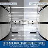 Hyperikon 4 Foot LED Tube, T8 T10 T12 40 Watt
