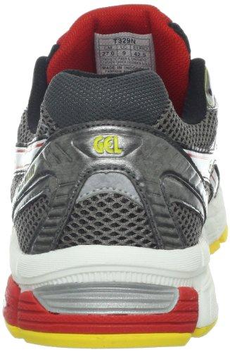 Asics Uomo Gel-esaltare Scarpa Da Corsa In Carbonio / Bianco / Pepe Rosso