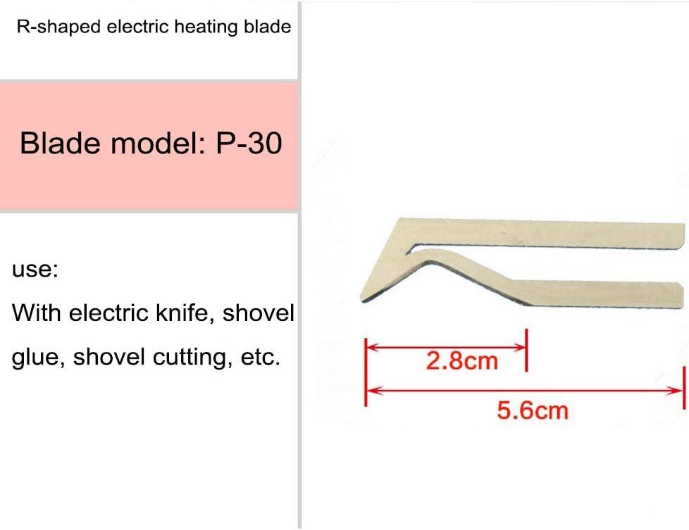 Klingen aus Nickel und Chrom mit hoher Qualit/ät Ersatzklinge f/ür Hei/ßschnittmaschine 1PC B