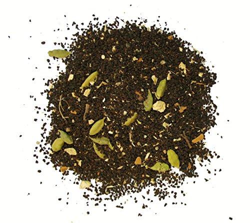 Cochin Masala Chai Tea, Includes Ceylon black tea, Ginger, Cardamom, Coriander, Cinnamon, and Black Pepper -1lb Tea Bag