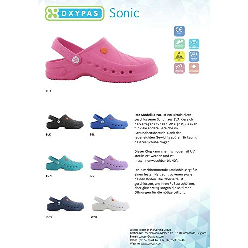 Oxypas SonicJ4401wht Sonic Extremely Light SRC Clog