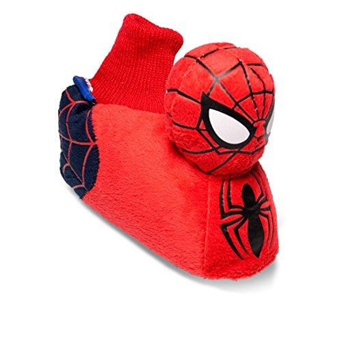 Sams Animaux Chaussons Disney Spiderman rouge Chausson drôle humoristique chaud, Spider