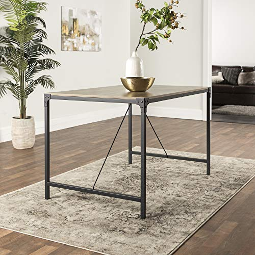 WE Furniture AZW48AIAG Dining Table, Drift Wood