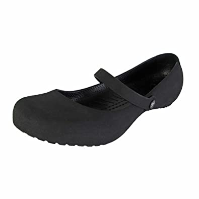 d878320e68d1d9 Crocs Womens Alice Suede Mary Jane Shoes