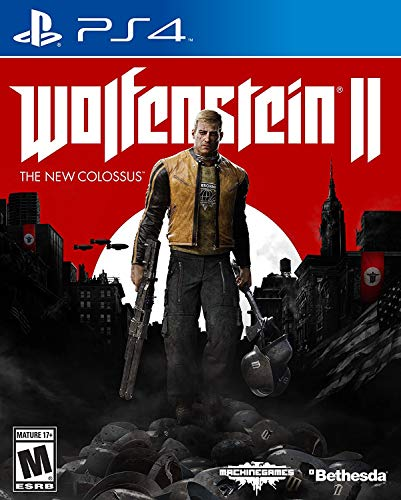 Wolfenstein II: The New Colossus - PlayStation 4 [video game] (Wolfenstein The New Order All Health Upgrades)