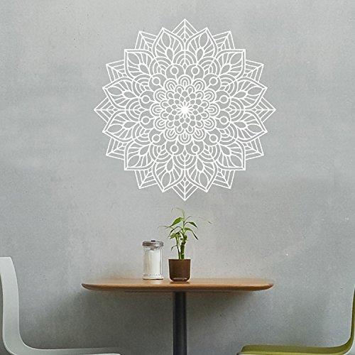 Vinyl Wall Art Decal - Mandala Figure - 23