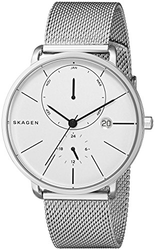 Skagen-Mens-SKW6242-HAGEN-Analog-Display-Analog-Quartz-Silver-Watch