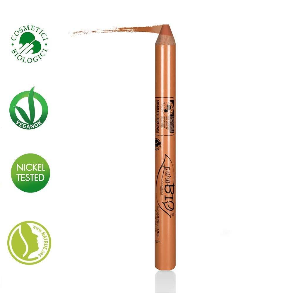 PUROBIO - Concealer Stick - 32 Orange - Organic, Vegan, Nickel Tested, made in Italy