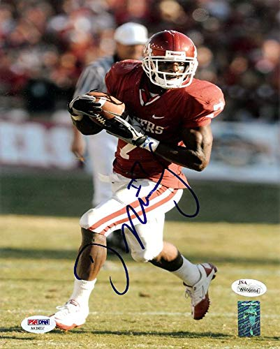 Autographed Demarco Murray Photo - 8x10 AA39037 - PSA DNA Certified -  Autographed College 2c067f056
