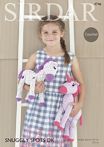 Sirdar Horse & Unicorn Toys Crochet Pattern 4746 DK Sirdar Yarn Patterns