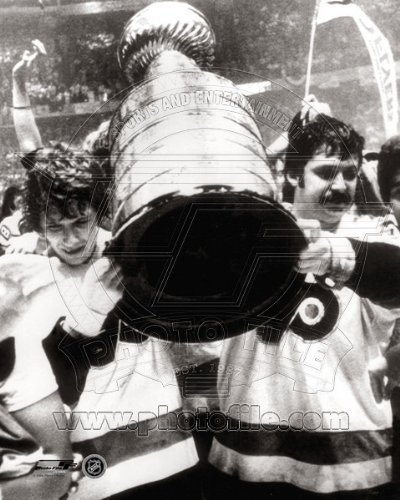 Bobby Clarke & Bernie Parent Philadelphia Flyers Stanley Cup Photo