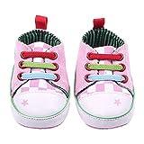 iFANS Unisex Baby Cute Frog Grid Sneaker Soft Sole Prewalker for infant
