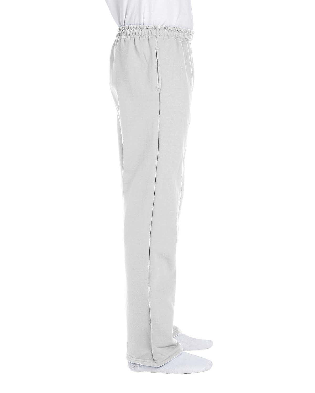 Gildan Adult Jersey-Lined Elastic Waist Open-Bottom Sweatpant 12300