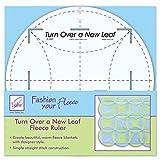 June Tailor Turn Over a New Leaf Ruler, 8-Inch