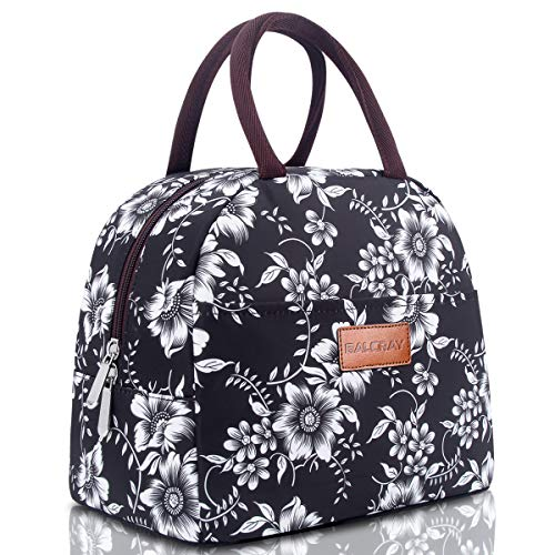 BALORAY Lunch Bag for Women Insulated Lunch Tote Bag Durable Lunch Bag Lunch Container Perfect for Work (Best Affordable Tote Bags)