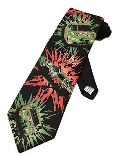 Ralph Marlin Mens Bobby Labonte NASCAR Necktie - Black - One Size Neck Tie
