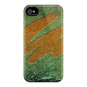 Durable Protector Case Cover With Rough Paint Hot Design For Iphone 4/4s