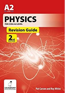 Physics revision guide for ccea a2 level amazon pat carson physics for ccea a2 level revision guide 2nd edition urtaz Gallery