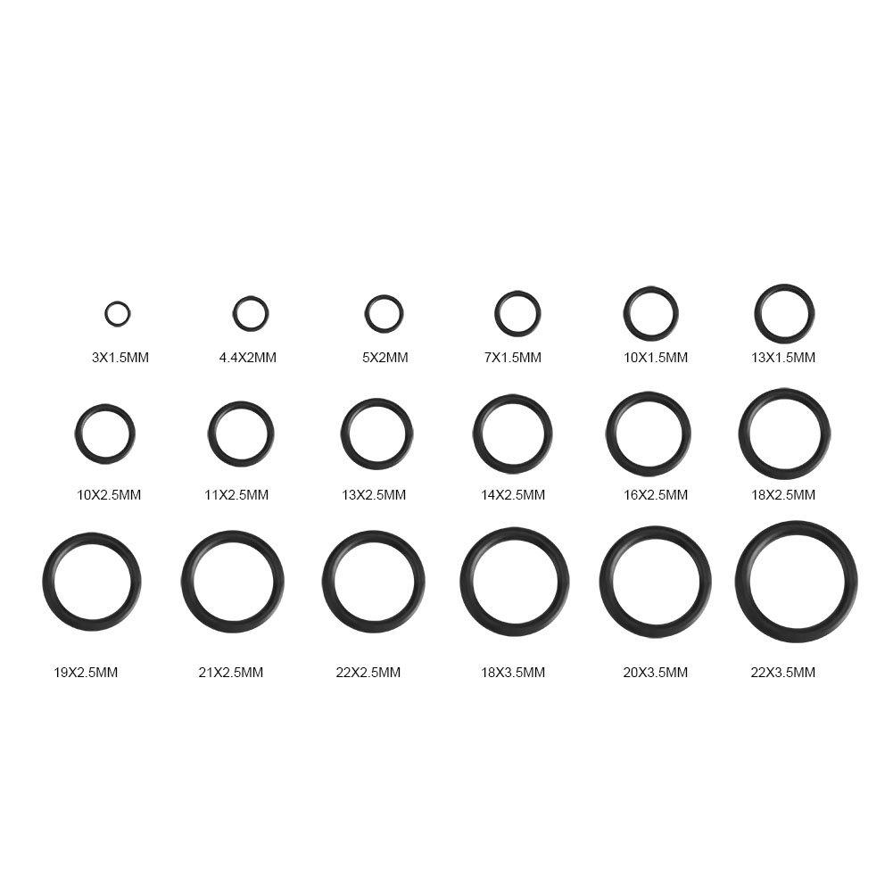 Menge 25 Stück O-Ring 14 x 5 mm NBR 90 Dichtring
