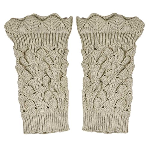 Voberry Knitted Toppers Hollow Warmers product image
