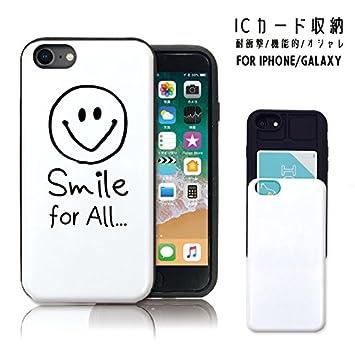 3ab1c4bfe4 iPhoneXS ケース 耐衝撃 iPhoneX スマホケース スライドケース icカード収納 背面 電磁波防止シート付き