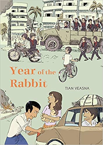 Book cover for Year of the Rabbit by Tian Veasna
