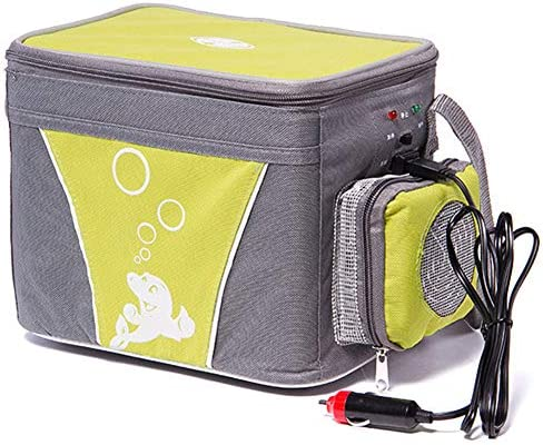Youandmi 4l Kühlbox Tragbare Thermo Elektrische Kühlschrank Mit 12v Steckdose Für Auto Camping 48w Sport Freizeit