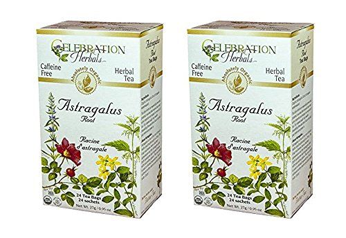 Celebration Herbals Teabags Astragalus Organic