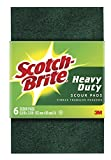Scotch-Brite 1563721 Heavy Duty Scour Pad, 6 Count (Pack of 4)