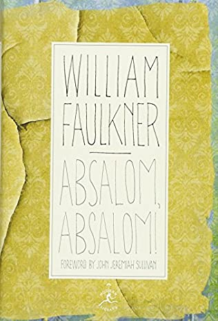 book cover of Absalom, Absalom!