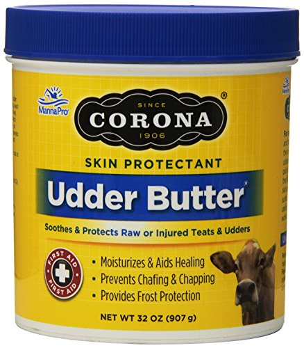 Manna Pro 0095025331 Corona Udder Butter Lanolin Enriched Moisturizing Ointment for Pets, 32-Ounce (Corona Cream compare prices)
