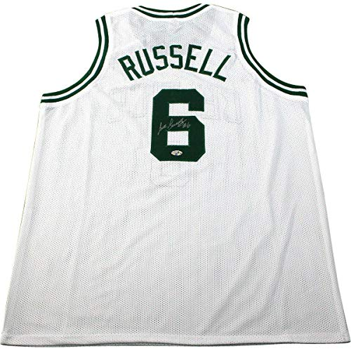 - Bill Russell Boston Celtics Signed White Jersey (Hollywood Collectibles) - Steiner Sports Certified - Autographed NBA Jerseys