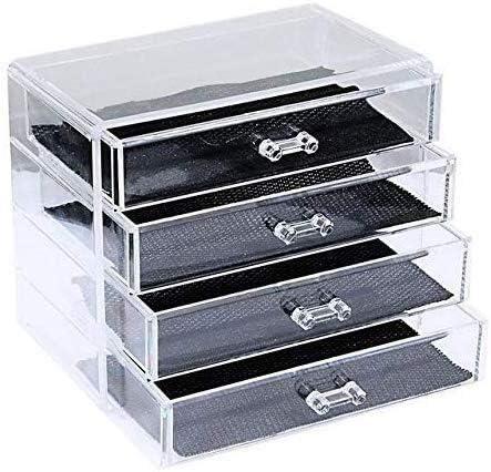 Cajas de joyería DJSSH Caja de Almacenamiento cosmética de ...