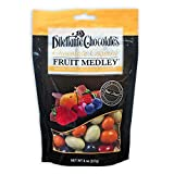 Classic Chocolate Covered Fruit Medley in Premium Chocolate - 8 oz Pouches - by Dilettante (3 Pack)