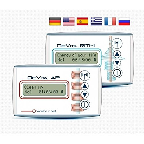 Deta antiparasitic therapy DEVITA AP 30 + DeVita Ritm free shipping EMS English screen and manual