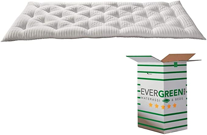 120x195 EVERGREENWEB MATERASSI /& BEDS Twist Bed Memory materassino Memory Arrotolabile Supporto ergonomico