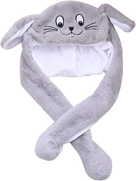Happyyami Novedad ratón Sombrero Animal Sombrero Orejas de Felpa ...