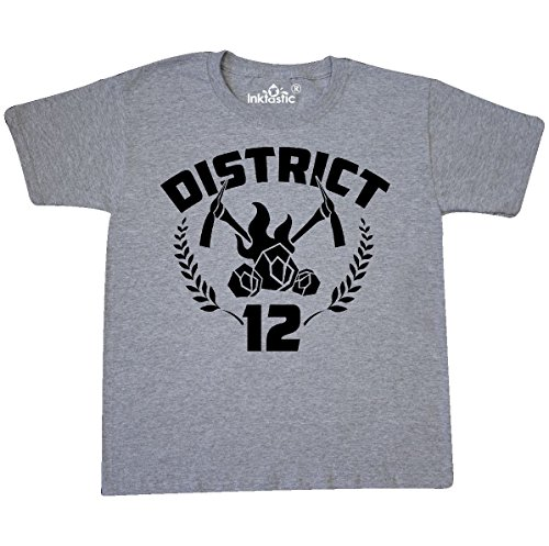Inktastic - District 12 Youth T-Shirt Youth Large (14-16) Athletic Heather