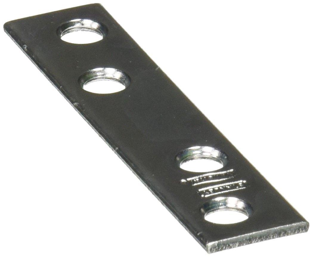 NATIONAL SPECTRUM BRANDS HHI N114 355 3 x 5 8 Inch Mending Plate 4 Pack