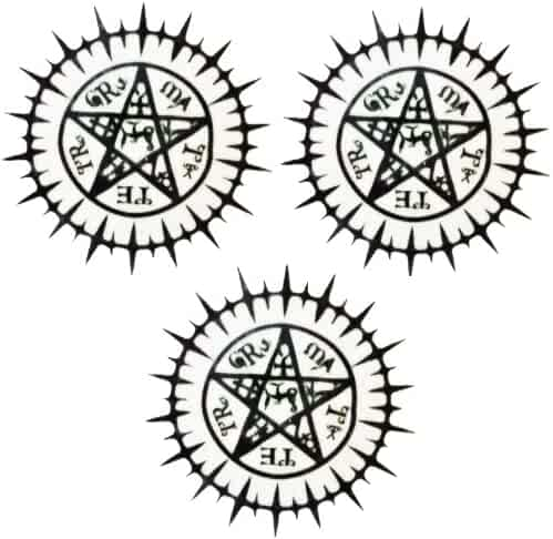 Black Butler Sebastian Tattoo Seal Set of 3 Cosplay Tattoo Sebastian (japan import)