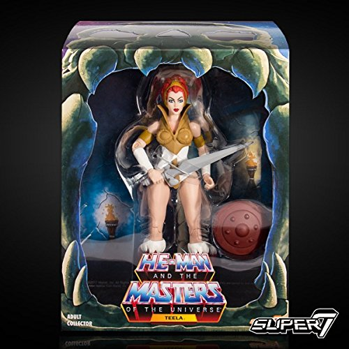 Masters of the Universe Super-7 Filmation Teela Action -
