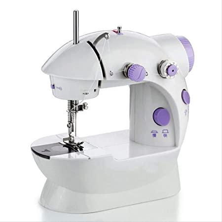 Yuaer Máquina de coser portátil con pedales, máquina de coser ...