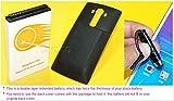 Black LG G4 Extended Battery,10100mAh High Capacity