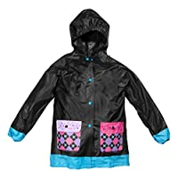 Lilly of New York Boy & Girl Rain Jackets, Hooded Raincoat, Pockets, Fun Prints
