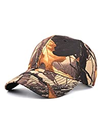 Mens Classic Camo Military Hat Hunting Fishing Army Baseball Cap Adjustable Hat