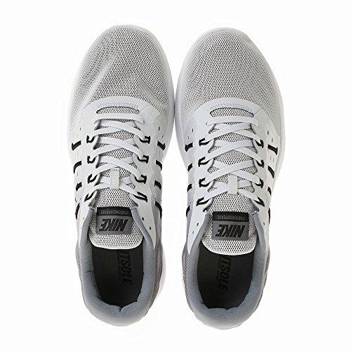 Nike Mens Lunarstelos Scarpa Da Corsa Puro Platino Nero