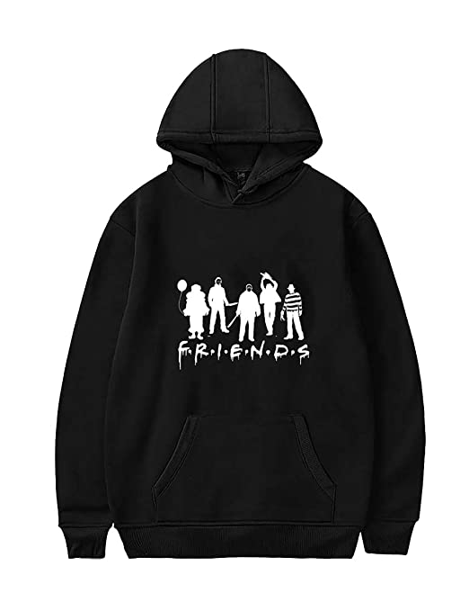 PowerfulTop PowerfulTop Damen Friends Horror Hoodie Teenager