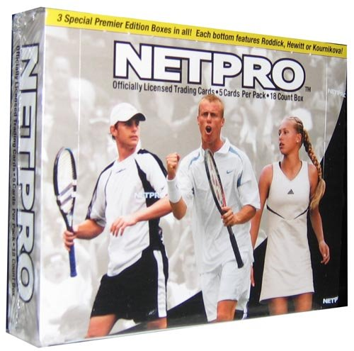 Netpro Premier Edition Tennis Display Box