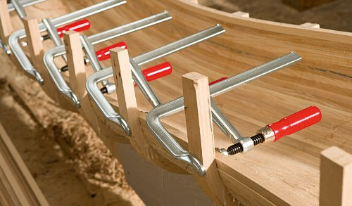 Bessey GZ16 Screw Clamp 6.3In/3.15In, Silver/Red by Bessey (Image #7)